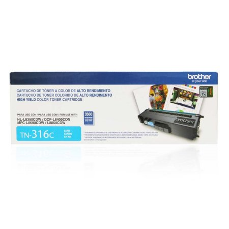 TN-316C - Toner Original Brother TN316C Ciano 3.500Páginas Aproximadamente