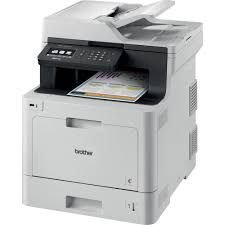 MFC-L8610CDW - Multifuncional Laser Color Brother - Impressora, Copiadora e Scanner