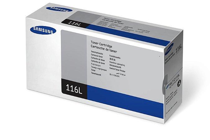 Original MLT-D116L Toner Samsung Preto D116L Autonomia 3.000Páginas