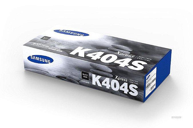 Original CLT-K404S Toner Samsung Preto K404S Autonomia 1.500Páginas