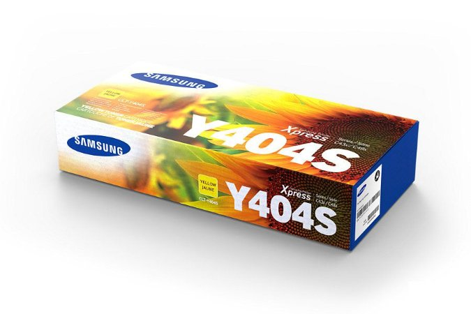CLT-Y404S - Toner Original Samsung CLTY404S Amarelo 1.000Páginas aproximadamente em texto