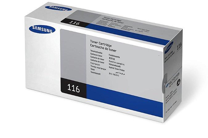 Original MLT-D116S Toner Samsung Preto D116S Autonomia 1.200Páginas