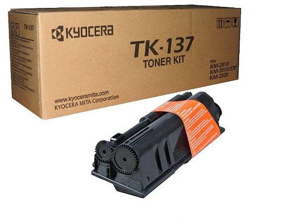 Original TK-137ST Toner Kyocera Preto TK137ST Autonomia 7.200Páginas