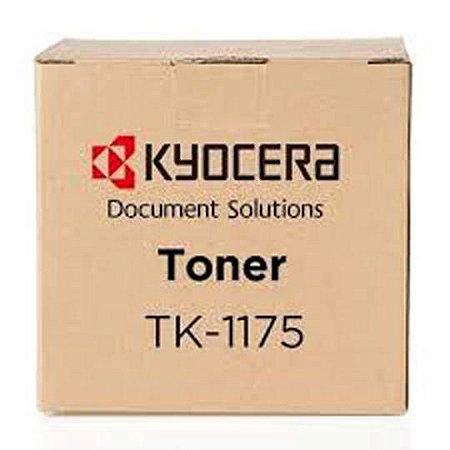 Original TK1175 Toner Kyocera Preto TK-1175 Autonomia 12.000Paginas