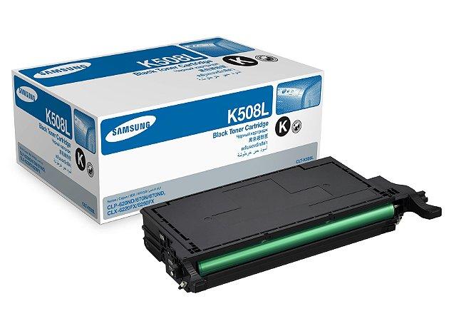CLT-K508L Toner Original Samsung CLTK508L Preto 5.000Paginas Aproximadamente
