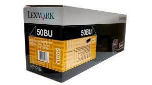 50FBU00 - Toner Original Lexmark 50BU / 504U Preto 20.000Páginas aproximadamente em texto