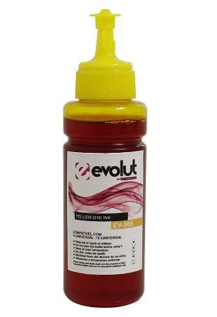 Garrafa para tanque de tinta compatível com impressoras Epson e HP Amarelo 100ML