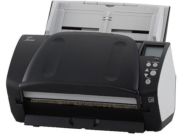 FI-7160 - Scanner Fujitsu FI7160 Conexão USB Até Tamanho Ofício ADF para 80 Folhas com Duplex