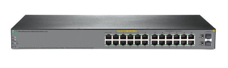 24Portas - JL384A - Switch Gigabit Aruba OfficeConnect HP 1920s 24xGigabit  L3 Gerenciável