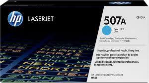 CE401A - Toner Original HP 507A Azul Autonomia 6000Páginas aproximadamente em texto