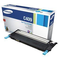 Original CLT-C409S Toner Samsung Azul C409S Autonomia 1.000Paginas