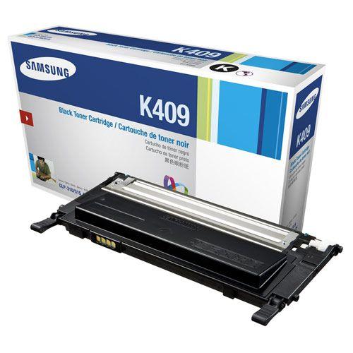 Original CLT-K409S Toner Samsung Preto K409S Autonomia 2.000Páginas