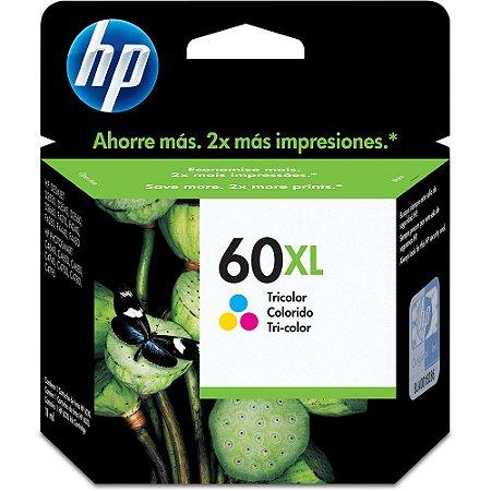 60XL - Cartcho Original HP CC644WB Tricolor 13ML