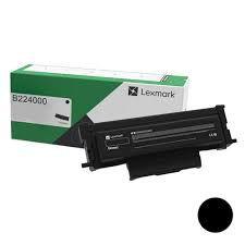 Original B224000 Toner Lexmark Preto Autonomia 1.200Páginas