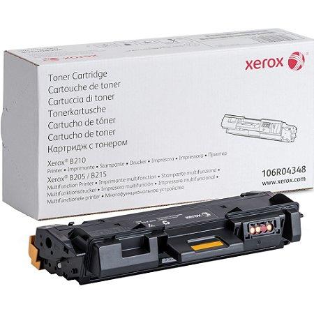 Original 106R04348 Toner Xerox Preto 3.000Páginas