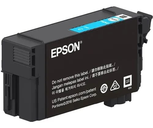 Original T40W220 T40W Cartucho Epson Ciano 50ml