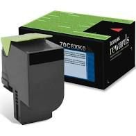 Original 70C8XK0 Toner Lexmark 708XK Preto 8.000Páginas