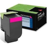 Original 70C8XM0 Toner Lexmark 708XM Magenta 4.000Páginas