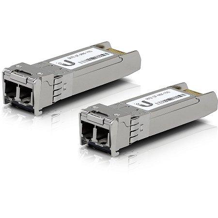 Transceiver Ubiquiti 2 LC 10Gbps 300m Multi - UF-MM-10G