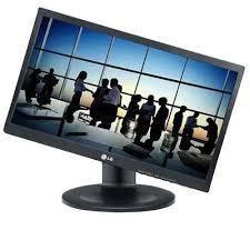 Monitor LG LED 19.5 20M35PH-B, Altura Ajustável, Inclinação Pivot, D-SUB, HDMI, DVI
