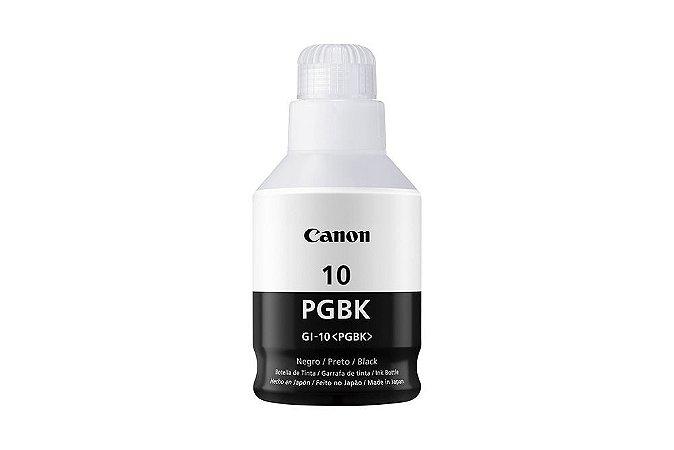 Original GI-10BK Garrafa Refil de tinta Canon GI10BK Preta 170ml 8.300Páginas