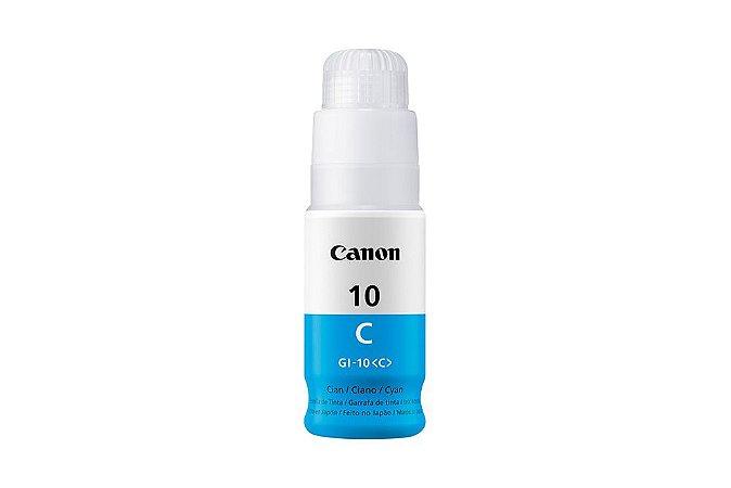 Original GI-10C Garrafa Refil de tinta Canon GI10C Ciano 70ml 7.700Páginas