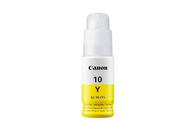 Original GI-10Y Garrafa Refil de tinta Canon GI10Y Amarelo 70ml 7.700Páginas