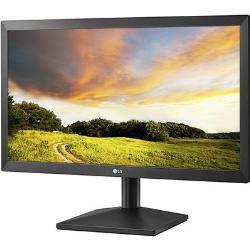 Monitor 20MK400H-B LG LED 19,5Pol. 1366x768 Preto D-Sub Hdmi
