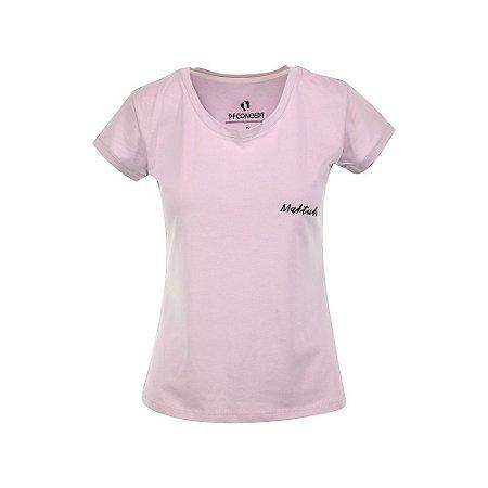 Camiseta Feminina Maktub Lilás