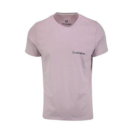 Camiseta Masculina Gratidão Lilás