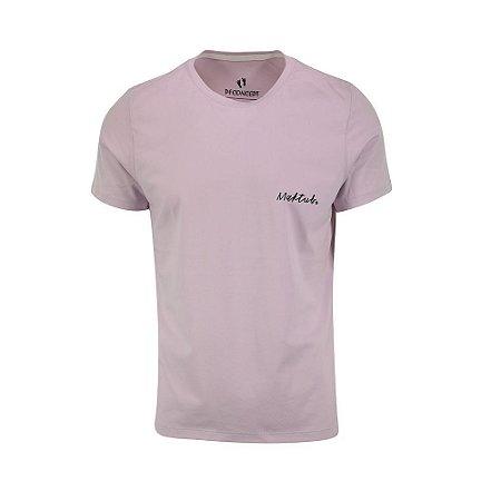 Camiseta Masculina Maktub Lilás