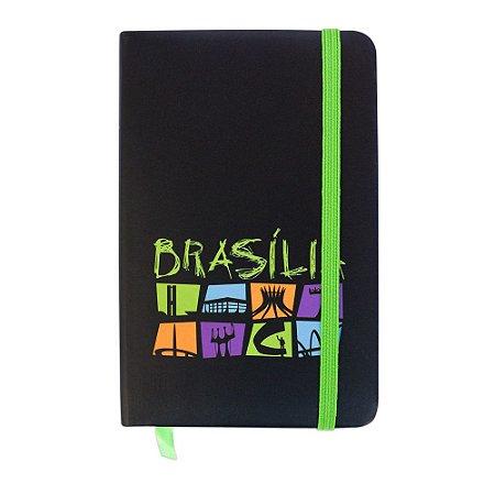 Caderninho de anotações escrito preto - Brasília