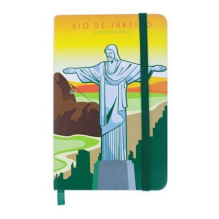 Caderninho de anotações cristo - Rio