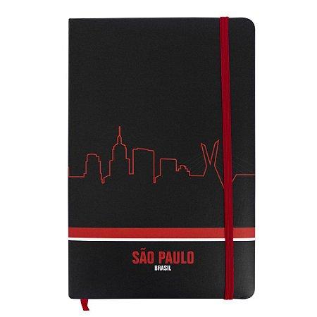 Caderno de anotações skyline - São Paulo