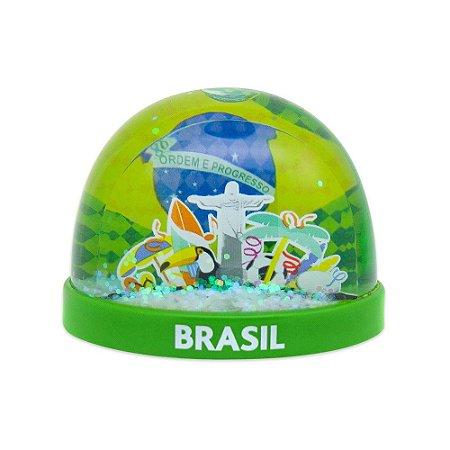 Globo de neve plástico turismo - Brasil