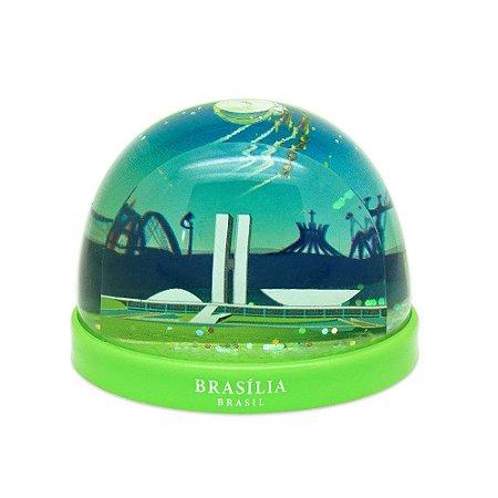 Globo de neve plástico - Brasília