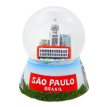 Globo de neve moderna - São Paulo