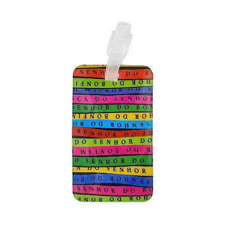 Identificador de bagagem PVC Senhor do Bonfim - Bahia