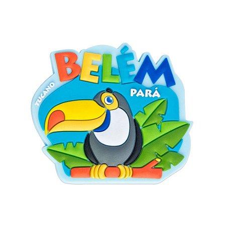 Imã de geladeira tucano - Belém