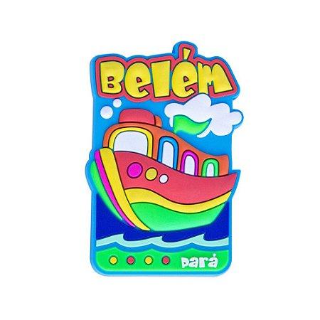 Imã de geladeira Barco - Belém