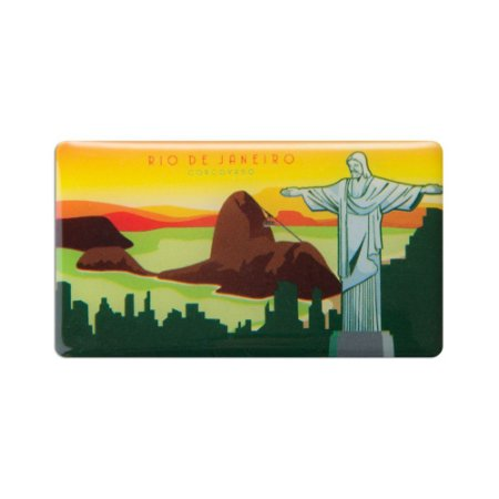 Imã de geladeira Cristo - Rio de Janeiro