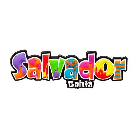 Imã de geladeira emborrachado Salvador - Bahia