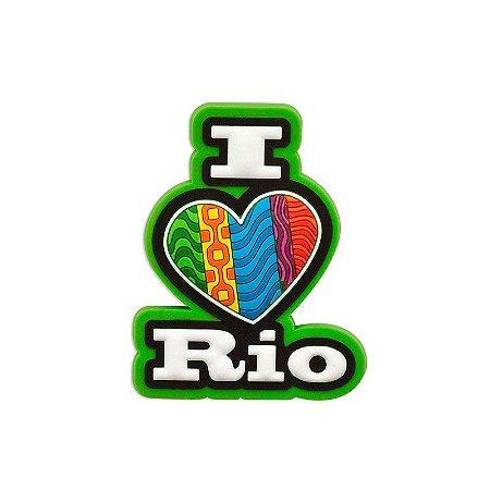 Imã de geladeira I love vertical - Rio de Janeiro