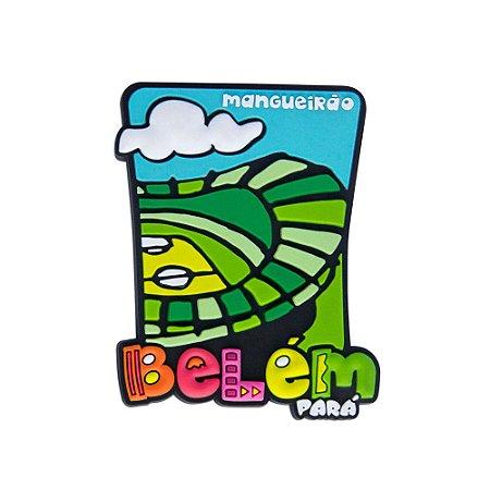 Imã de geladeira mangueirão - Belém