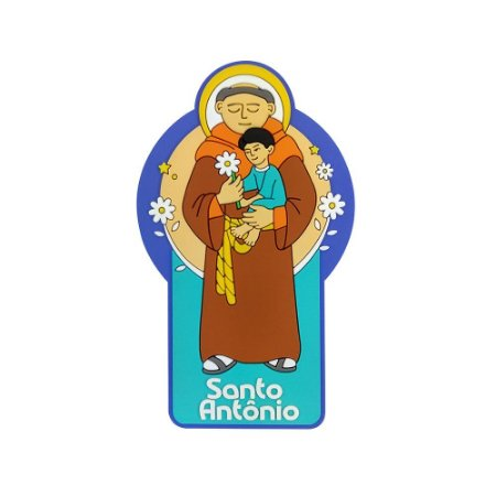 Imã de geladeira Santo Antônio - Religioso