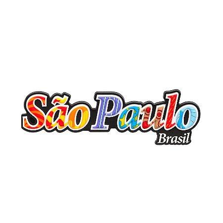 Imã de geladeira escrito - São Paulo
