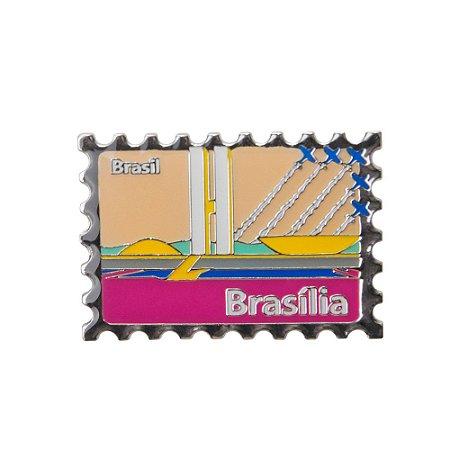 Imã de geladeira Selo - Brasília