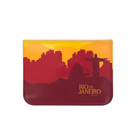 Porta-moedas vermelho - Rio de Janeiro