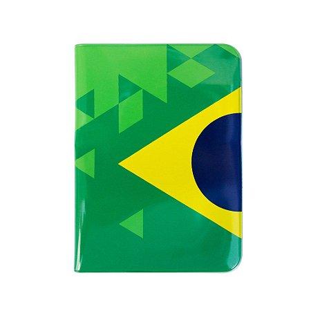 Capa para passaporte triangulos - Brasil