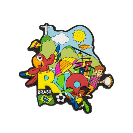 Imã de geladeira Rio 2017 - Rio de Janeiro